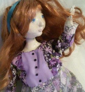 Коллекционная авторская кукла Анечка