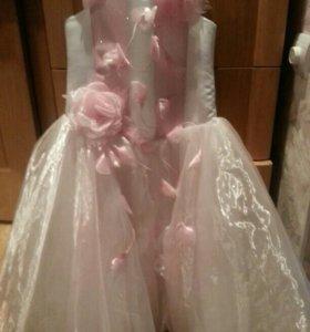 Платье на рост до 140 см