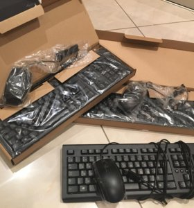 Клавиатура и мышка Pn 697738-001 pn 697737-251