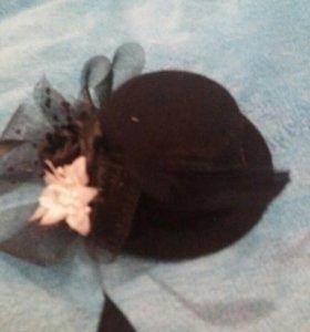 Шляпка-заколка