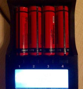 Аккумуляторы литий-ионные 18650 с защитой НОВЫЕ