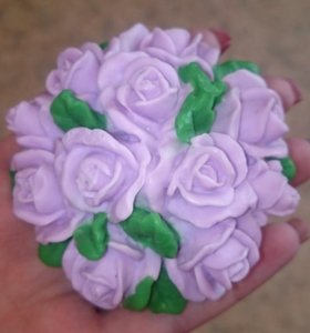 Подарок женщинам мыло ручной работы