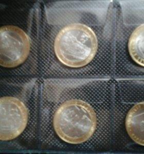 Продам монеты из биметалла