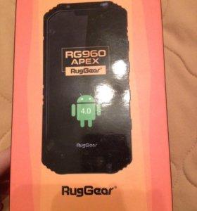 Телефон водонепроницаемый RugGear