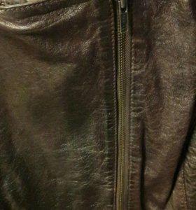 Новая кожанная куртка Next 52- 54 размер
