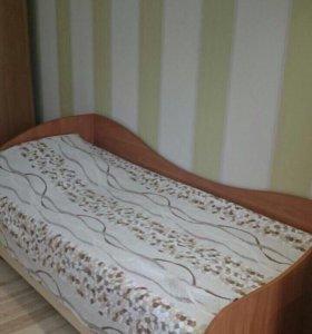 Отличная односпальная кровать