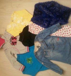 20 вещей+обувь на девочку пакетом