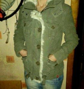 куртка хаки 46размер