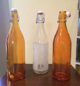 Бутылки с замком