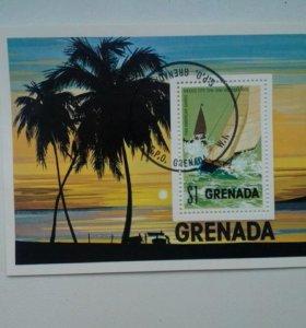 Марка Гренады 1975г