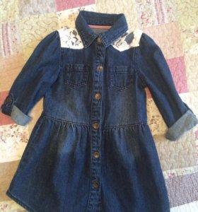 Платье mothercare 92-98