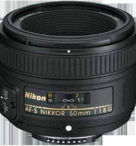 Nikon d3200+объектив 50мм