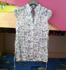 Блузка прозрачная!