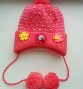 Новая шапка от 1 до 3 месяцев