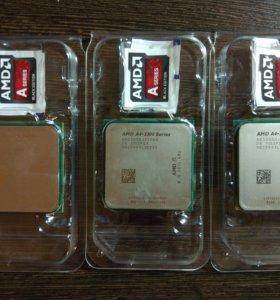 AMD A4-3300 x2 2500MHz FM1