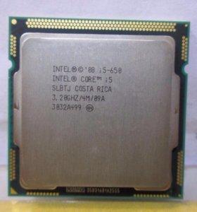 Intel core I5-650,3,2Ггц сокет 1156