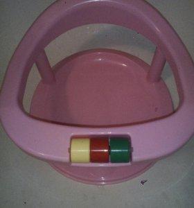 Сиденье детское для купания на присосках