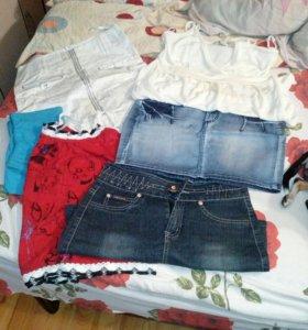 Мешочек одежды