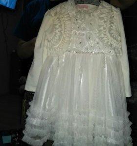 Платье детское + жакет