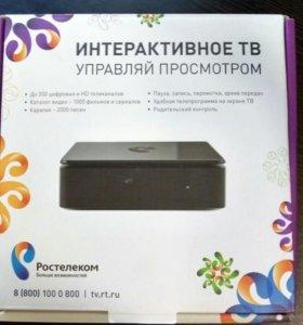 Приставка интерактивное ТВ Ростелеком