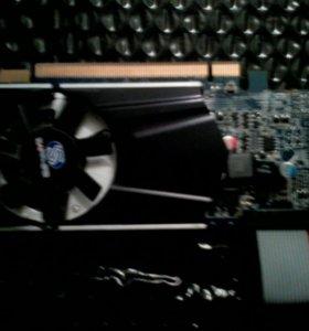 """Видеокарта """"AMD HD 6570 DDR3"""" на 1 гигабайт."""