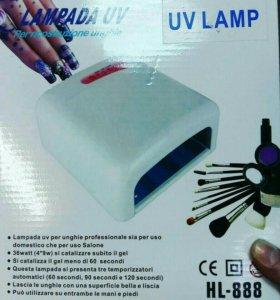UV лампа для сушки гель лака и шелака.