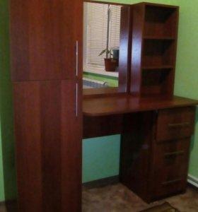 Стол туалетный+шкаф