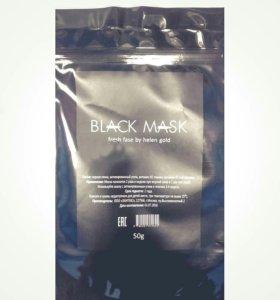 Черная маска для лица 50гр