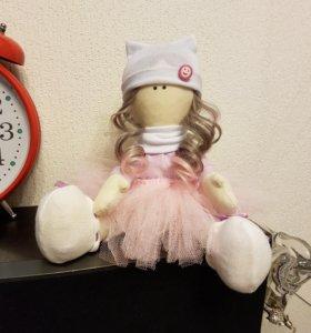 Куколки и зайчики ручной работы