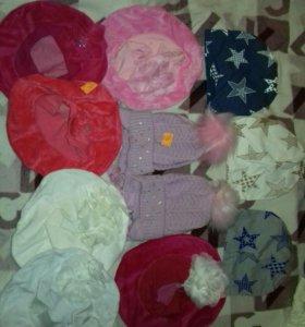 Весенние детские шапочки