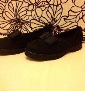 Женские мокасины,ботинки