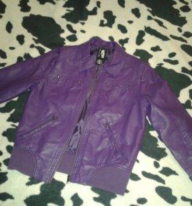Куртка женская фиолетовая