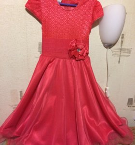 Платье р-р 34 юбка-солнце