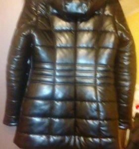 Куртка это кожа песец, отличное состояние
