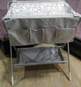 Пеленальный столик складной