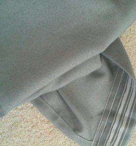 шторы новые, благородного серого цвета
