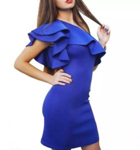 Новое шикарное платье на одно плечо