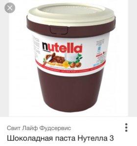 Шоколадная паста NUTELLA FERERRO 3 kg
