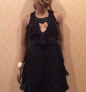 Новое роскошное чёрное платье JLo (размер M)