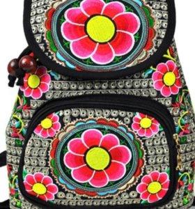 🎒Новый рюкзак - сумка в стиле этно