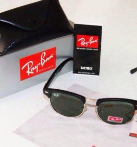 Очки Ray-Ban ( чехол+салфетка в подарок)