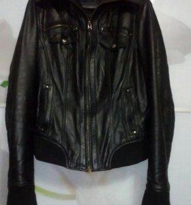 Куртка натуральная кожа б/у торг