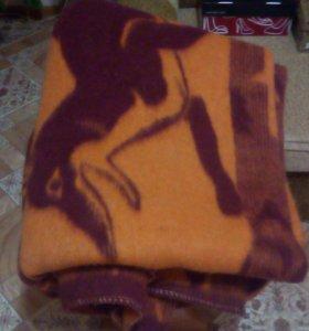 Одеяло шерстянное полуторное