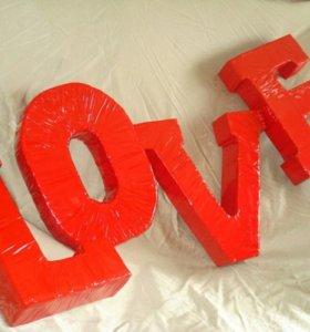 Изготовление букв