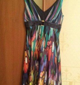 Платье GIZIA (натуральный шелк) размер S-M