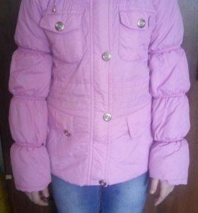 Куртки на девочку деми