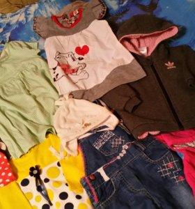 Одежда для девочки р74-80
