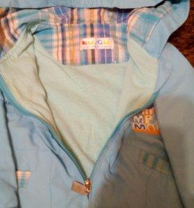 Ветровка и джинсовая куртка