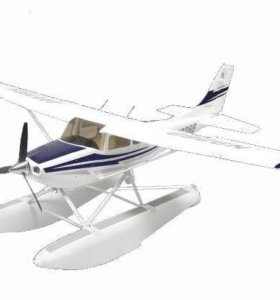 Радиоуправляемый самолет Art-tech Cessna с лыжами.