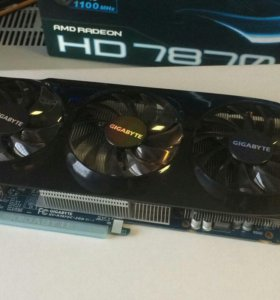 Видеокарта AMD GIGABYTE HD 7870